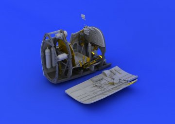 Spitfire Mk.II - Cockpit [Revell] · EDU 632064 ·  Eduard · 1:32