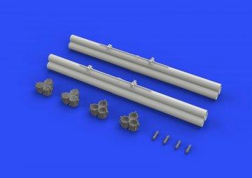 Bazooka rocket launchers P-40 · EDU 632082 ·  Eduard · 1:32