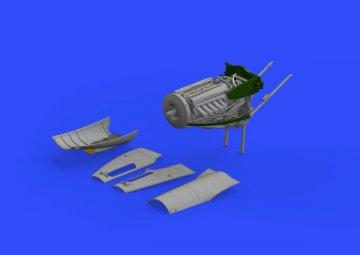 DeHavilland Mosquito FB Mk.VI - Right - Engine [Tamiya] · EDU 632091 ·  Eduard · 1:32