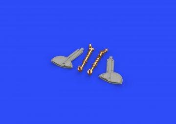 Spitfire Mk.IXc - Undercarriage legs BRONZ [Revell] · EDU 632109 ·  Eduard · 1:32