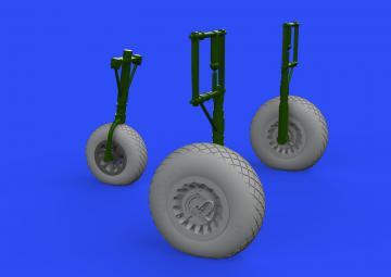 A-26 Invader - Wheels [HobbyBoss] · EDU 632159 ·  Eduard · 1:32