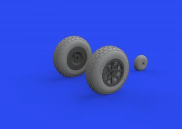 P-40E War Hawk - Wheels [Trumpeter] · EDU 632160 ·  Eduard · 1:32