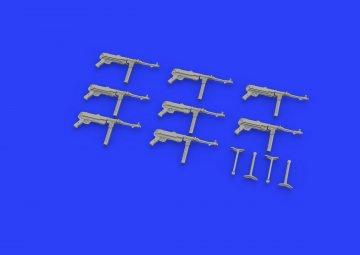 MP 40 machine gun · EDU 635008 ·  Eduard · 1:35