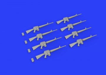 M16 Rifle - Vietnam War · EDU 635009 ·  Eduard · 1:35