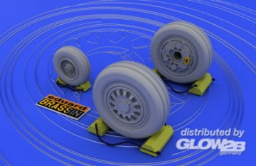 F-16 late - Wheels [Tamiya] · EDU 648007 ·  Eduard · 1:48