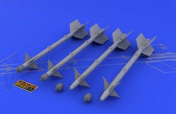 AIM-9M/L Sidewinder · EDU 648029 ·  Eduard · 1:48