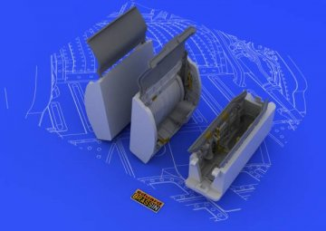 MiG-21 wheel wells [Eduard] · EDU 648049 ·  Eduard · 1:48