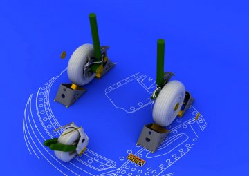 Su-27 - Wheels [Academy] · EDU 648053 ·  Eduard · 1:48