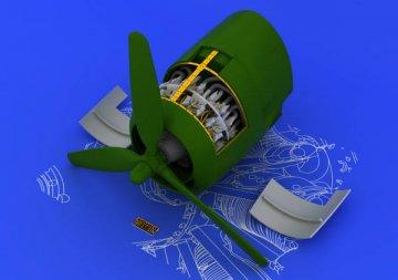 R-2800-10 - Engine [Eduard] · EDU 648056 ·  Eduard · 1:48
