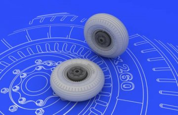 II-2 Shturmovik - Wheels [Tamiya] · EDU 648072 ·  Eduard · 1:48