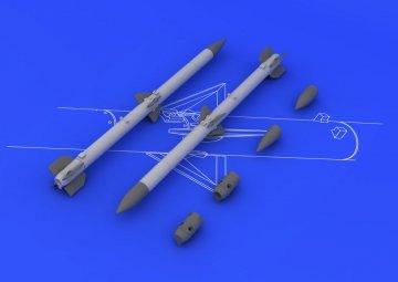 AIM-120C AMRAAM · EDU 648087 ·  Eduard · 1:48