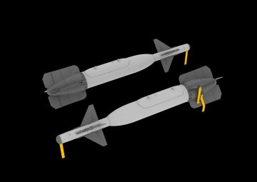 GBU-24 bomb · EDU 648095 ·  Eduard · 1:48