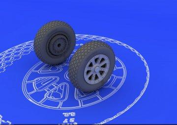 F6F - Wheels [Eduard] · EDU 648102 ·  Eduard · 1:48