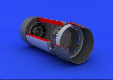 MiG-23 M/MF - Exhaust nozzle [Trumpeter] · EDU 648104 ·  Eduard · 1:48