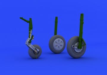 MiG-21PFM - Wheels [Eduard] · EDU 648110 ·  Eduard · 1:48