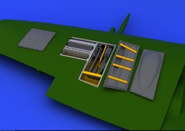 Spitfire Mk.IX - Gun bay [Eduard] · EDU 648113 ·  Eduard · 1:48