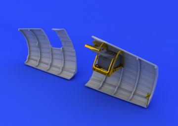 Spitfire - radio compartment · EDU 648120 ·  Eduard · 1:48