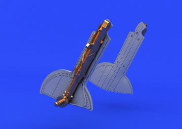 Spitfire - Undercarriage legs Bronze [Eduard] · EDU 648124 ·  Eduard · 1:48