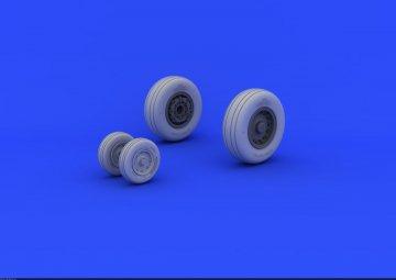 A-6 Intruder - wheels [HobbyBoss] · EDU 648193 ·  Eduard · 1:48