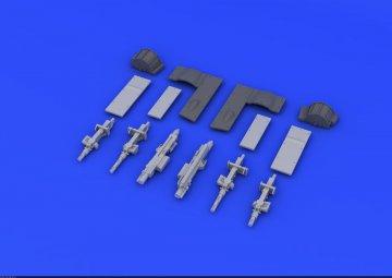 Spitfife Mk.Vb gun bays [Airfix] · EDU 648198 ·  Eduard · 1:48