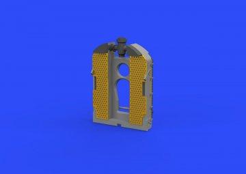 SE.5a Wolseley Viper - Radiator [Eduard] · EDU 648298 ·  Eduard · 1:48