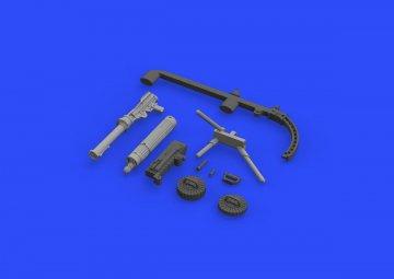 SE.5a Wolseley Viper - Guns [Eduard] · EDU 648299 ·  Eduard · 1:48