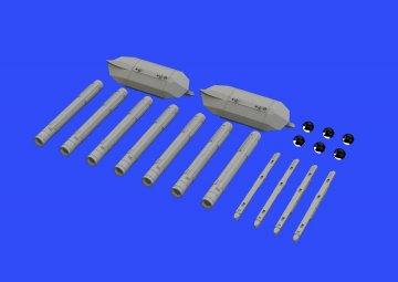 Brimstone w/AGML III rack · EDU 648339 ·  Eduard · 1:48