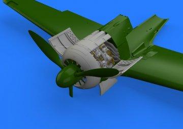 Focke-Wulf Fw 190 A-3 - Engine [Eduard] · EDU 648364 ·  Eduard · 1:48