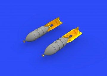 FAB 500 Soviet WWII bombs · EDU 648378 ·  Eduard · 1:48