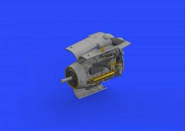 Messerschmitt Bf 109 G-6 - Engine [Tamiya] · EDU 648406 ·  Eduard · 1:48