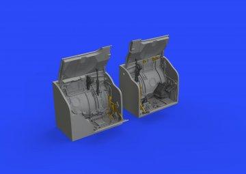 MiG-23ML - Main wheels bay [Eduard/Trumpeter] · EDU 648428 ·  Eduard · 1:48