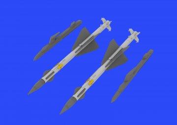 R-23R Missiles - MiG-23 [Trumpeter] · EDU 648432 ·  Eduard · 1:48