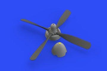 P-51D - Hamilton Standard uncuffed propeller f.Eduard · EDU 648488 ·  Eduard · 1:48