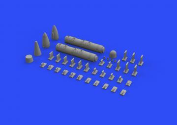 AN/ALQ-71(V)-2 ECM pod · EDU 648491 ·  Eduard · 1:48
