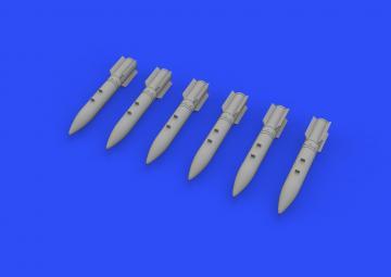 PB-250 bombs · EDU 648496 ·  Eduard · 1:48