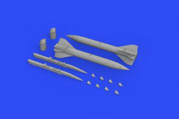 Kh-23M missiles · EDU 648501 ·  Eduard · 1:48