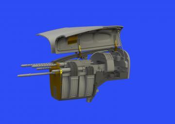 US P-38 f/G Lightning - Nose gun bay [Tamiya] · EDU 648533 ·  Eduard · 1:48