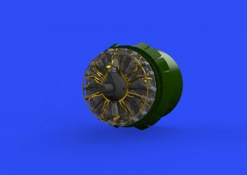 B-17G - Engines [HKM] · EDU 648538 ·  Eduard · 1:48