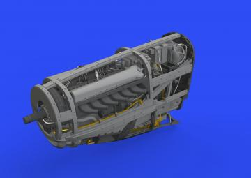 P-51D - Engine [Eduard] · EDU 648555 ·  Eduard · 1:48