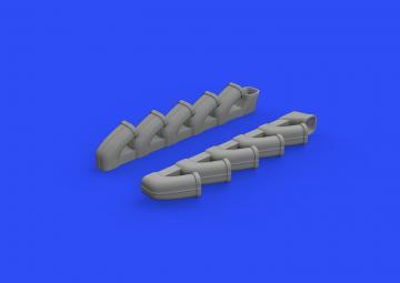 Il-2 - Exhaust stacks [Tamiya] · EDU 648588 ·  Eduard · 1:48