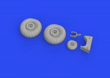 Dornier Do 17Z - Wheels [ICM] · EDU 648608 ·  Eduard · 1:48