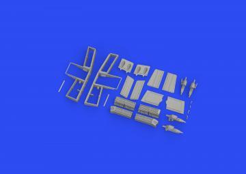 Tempest Mk.II - Gun bays [Eduard] · EDU 648638 ·  Eduard · 1:48