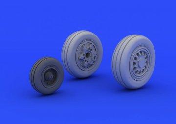 F-16CJ Block 50 - Wheels [Tamiya] · EDU 672040 ·  Eduard · 1:72