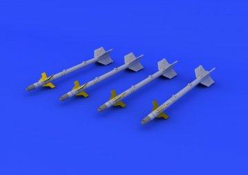AIM-9J Sidewinder · EDU 672064 ·  Eduard · 1:72