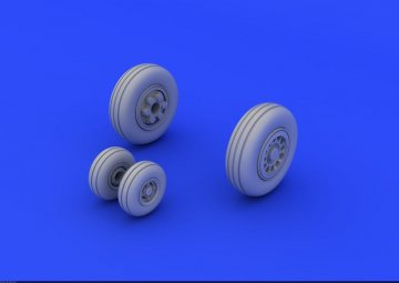 JAS-39 - Wheels [Revell] · EDU 672067 ·  Eduard · 1:72