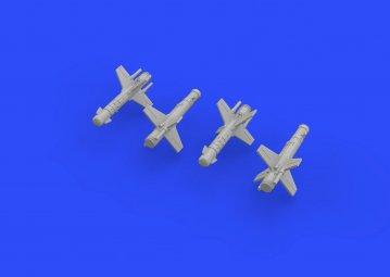 Falanga 9M17P missiles · EDU 672144 ·  Eduard · 1:72