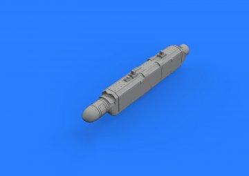 AN/ALQ-131(shallow)ECM pod · EDU 672162 ·  Eduard · 1:72