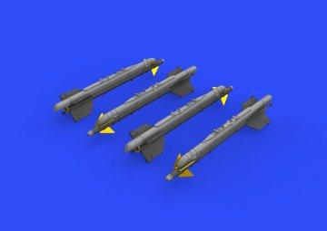 R-13M missiles MiG-21 · EDU 672187 ·  Eduard · 1:72