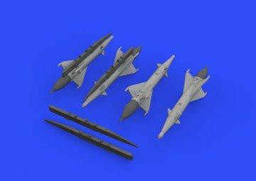 RS-2US missiles - MiG-21 [Eduard] · EDU 672191 ·  Eduard · 1:72