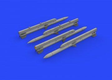 AIM-120C AMRAAM · EDU 672219 ·  Eduard · 1:72
